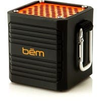 Bem EXO200 Speaker System - Portable - Battery Rechargeable - Wireless Speaker(s) - Black - Bluetooth - USB - Water Resistant, Dust Resistant, USB Charging Port, Built-in Battery