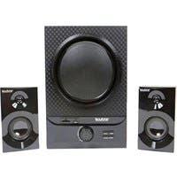 boytone BT-209FD 2.1 Speaker System - 30 W RMS - Wireless Speaker(s) - Black Diamond - 40 Hz - 20 kHz - SD - Bluetooth - USB - FM Radio, Remote, Digital Delay Display, Bass Control