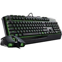Cooler Master Devastator II SGB-3032-KKMF1-US Keyboard - USB 2.0 Cable Black - USB 2.0 Cable Optical - 2000 dpi - 6 Button - Scroll Wheel - QWERTY - Black - Stop, Play/Pause, Previous Track, Next Trac