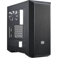 "Cooler Master MasterBox 5 MCX-B5S1-KWNN-11 Computer Case - Black - Steel, Plastic - 3 x Bay - 2 x 4.72"" x Fan(s) Installed - 0 - ATX, Micro ATX, Mini ITX Motherboard Supported"