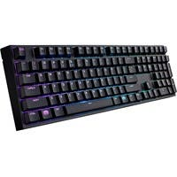 Cooler Master Masterkeys Pro L SGK-6020-KKCM1-US Keyboard - Cable Connectivity - USB 2.0 Interface - QWERTY Keys Layout - Mechanical - Black