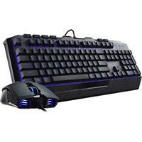 Cooler Master Devastator II SGB-3030-KKMF1-US Keyboard - USB 2.0 Cable English - Black - USB 2.0 Cable Optical - 2000 dpi - 6 Button - Scroll Wheel - QWERTY - Black - Stop, Play/Pause, Previous Track,
