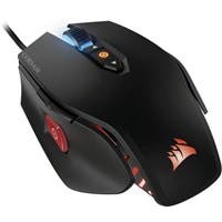 Corsair M65 Pro RGB FPS Gaming Mouse - Black - Optical - Cable - USB 2.0 - 12000 dpi - Computer - Scroll Wheel - 8 Button(s)
