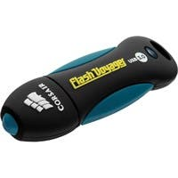 Corsair 16GB Flash Voyager USB 3.0 Flash Drive - 16 GB - USB 3.0 - Black - Water Resistant, Rugged Design, Shock Proof