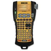 Dymo RhinoPRO 5200 Label Maker - Label, Tape - Yellow - Auto Power Off - for Industry