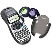 """Dymo LetraTag Plus Label Printer - Direct Thermal - Label, Tape - 0.50"""" - Battery - 4 Batteries Supported - AA - Alkaline - Silver - Handheld - Repeat Printing, ABCD Keyboard, Tape Cutter"""