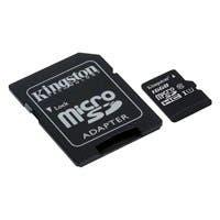 Kingston 16 GB microSDHC - Class 10/UHS-I (U1) - 45 MB/s Read - 10 MB/s Write
