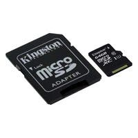 Kingston 64 GB microSDXC - Class 10/UHS-I - 45 MB/s Read1 Pack