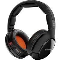 SteelSeries Siberia 800 Headset - Matte Black, Orange - Wireless - 32.8 ft - 32 Ohm - 20 Hz - 20 MHz - Over-the-head - Binaural - Circumaural