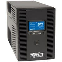 Tripp Lite UPS Smart 1500VA 900W Tower LCD Battery Back Up AVR Coax RJ45 USB - 1.6Minute Full Load - 5 x NEMA 5-15R - Surge-protected, 5 x NEMA 5-15R - UPS-protected