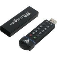 Apricorn 16GB Aegis Secure Key USB 3.0 Flash Drive - 16 GB - USB 3.0 - 256-bit AES