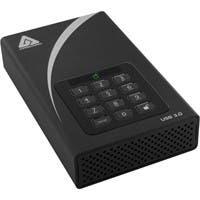 """Apricorn Aegis Padlock ADT-3PL256-2000 2 TB 3.5"""" External Hard Drive - USB 3.0 - 7200rpm - 8 MB Buffer"""