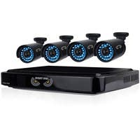 Night Owl 8 Channel Smart HD Video Security System with 1 TB HDD and 4 x 720p HD Cameras - Digital Video Recorder, Camera - 1 TB Hard Drive - 15 Fps - 720 - Composite Video In - Composite Video Out -