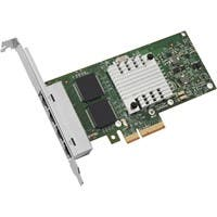 Intel Ethernet Server Adapter I340-T4 - PCI Express - 4 Port - 10/100/1000Base-T - Internal - Low-profile, Full-height - Retail