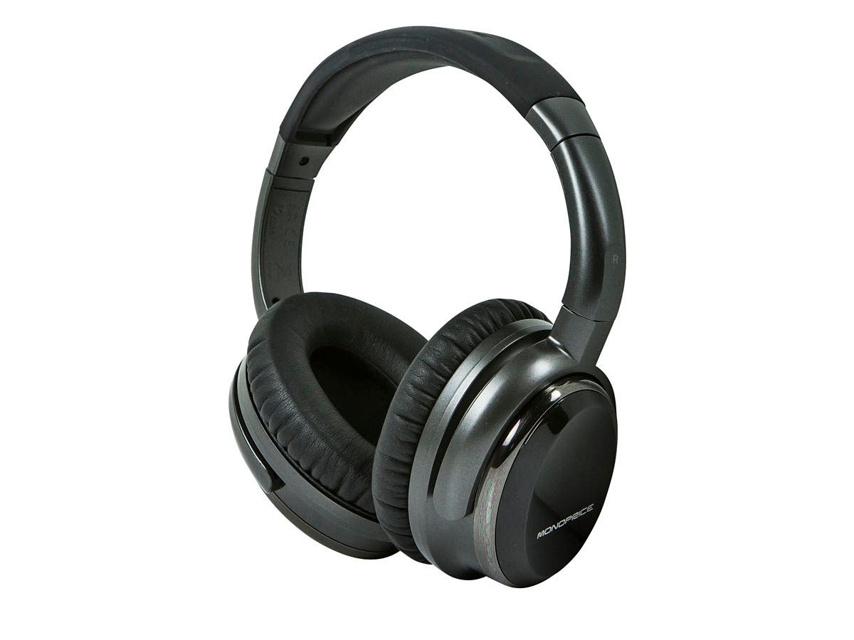 Monoprice Noise Cancelling Headphone with Active Noise Reduction Technology-Large-Image-1