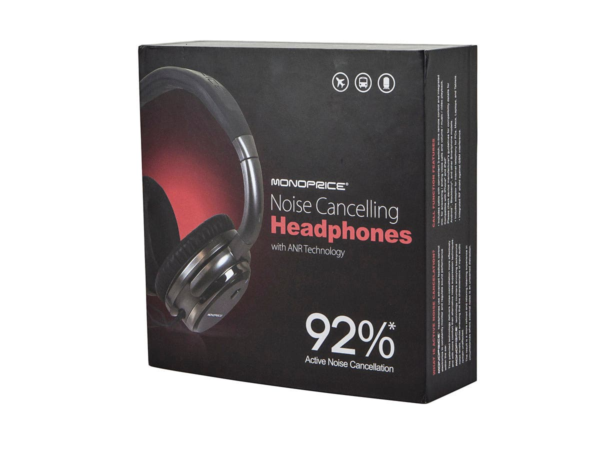 Monoprice Noise Cancelling Headphone With Active Noise