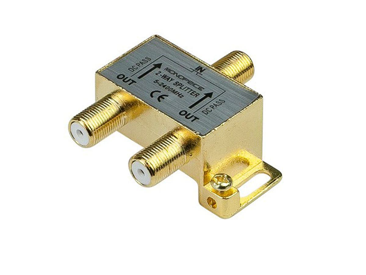 Monoprice - 2-Way Coaxial Splitter-Large-Image-1
