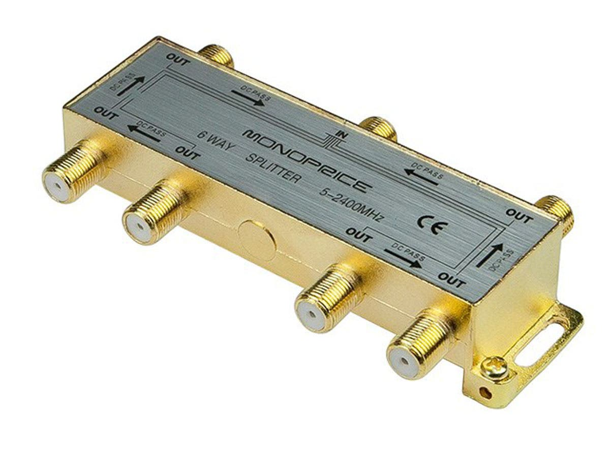 MP 6-Way Coaxial Splitter-Large-Image-1
