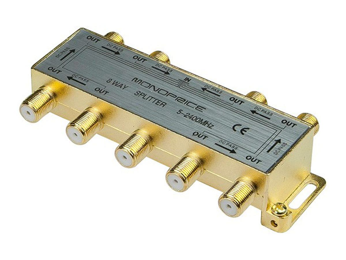 Monoprice - 8-Way Coaxial Splitter-Large-Image-1