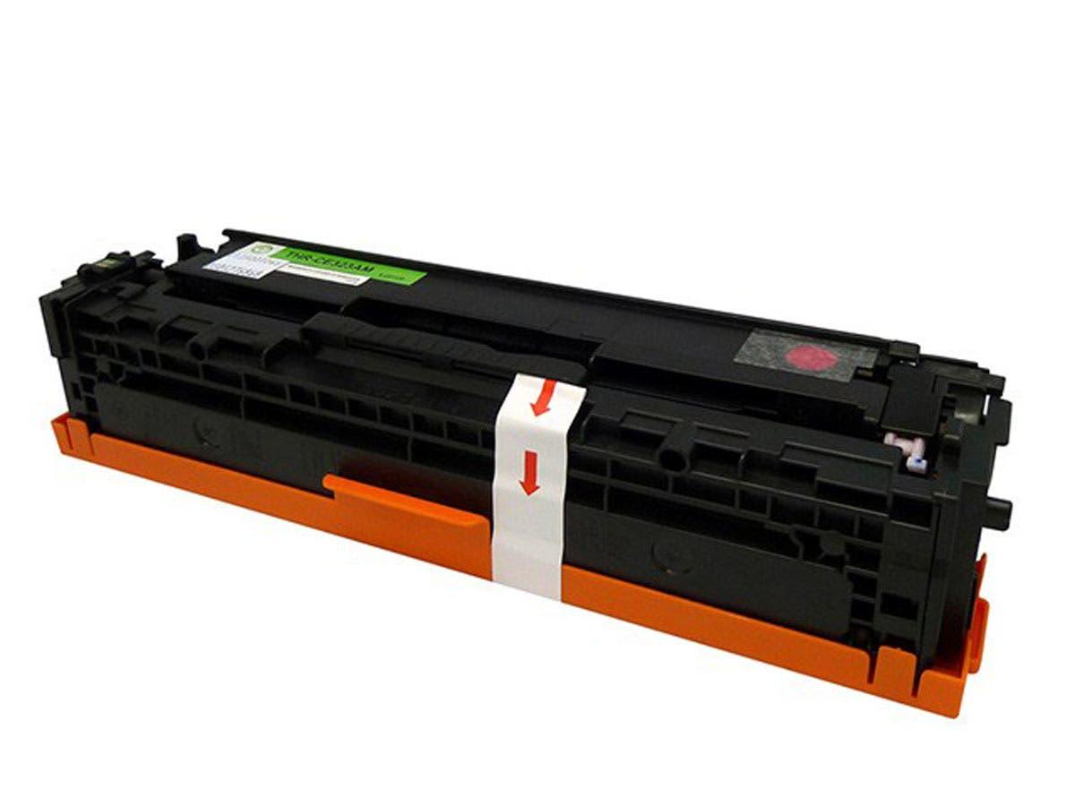 Monoprice Compatible HP 128A Magenta (CE323A) Laser Toner - Magenta-Large-Image-1