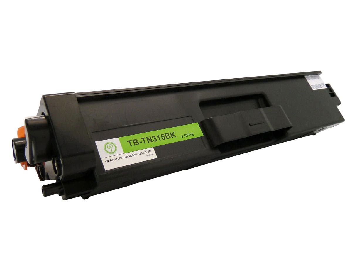 Monoprice compatible Brother TN315BK Color Laser/Toner-Black-Large-Image-1