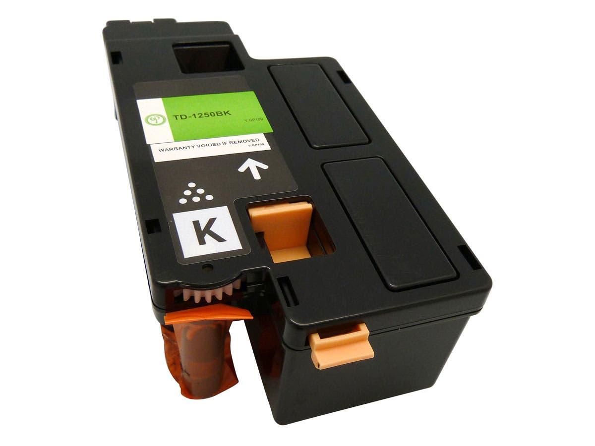 Monoprice compatible Dell 1250BK (331-0778) Laser/Toner-Black-Large-Image-1