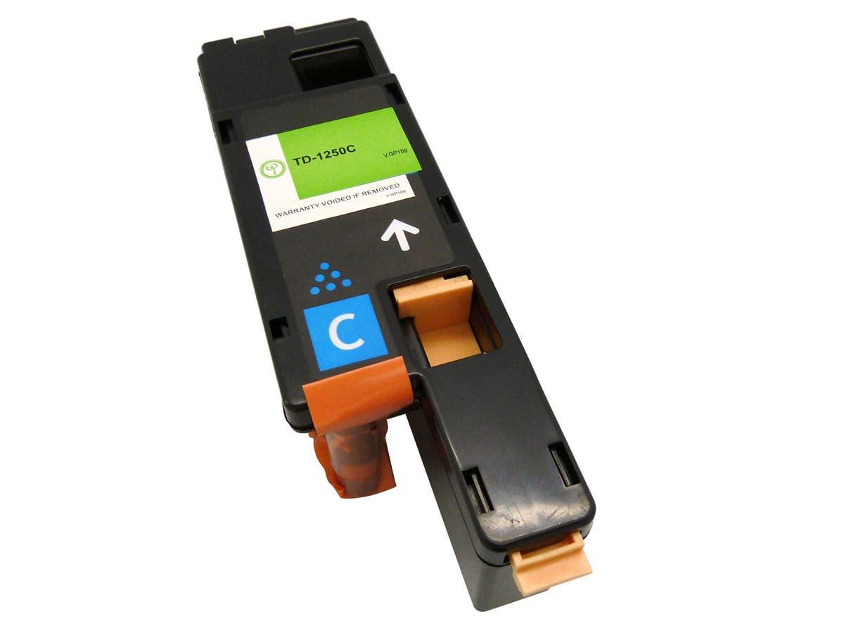 MPI compatible Dell 1250C (331-0777) Laser/Toner-Cyan