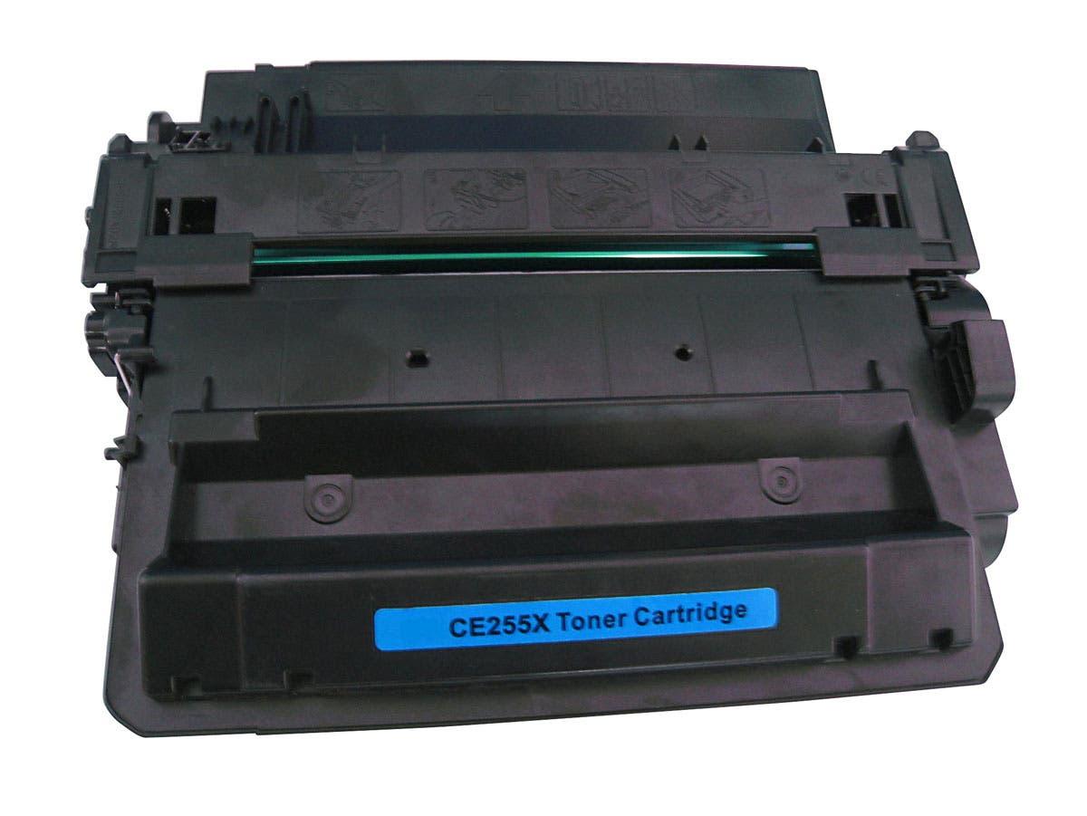 Monoprice Compatible HP CE255X Laser/Toner-Black-Large-Image-1