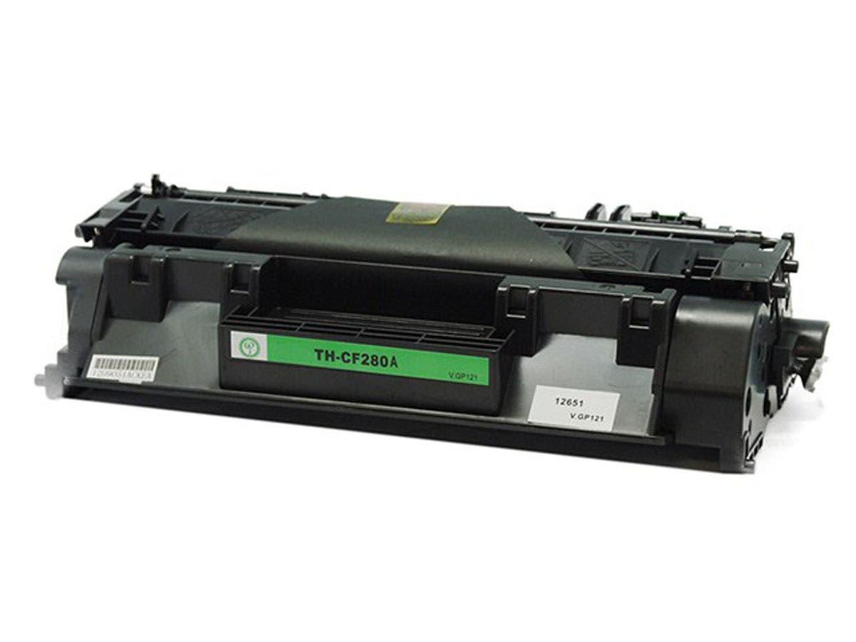 Monoprice Compatible HP CF280A Laser/Toner-Black-Large-Image-1