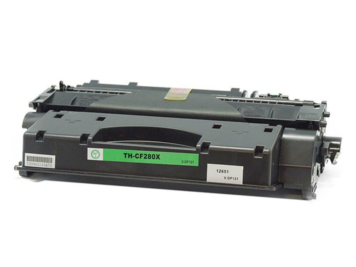 Monoprice Compatible HP CF280X Laser/Toner-Black-Large-Image-1