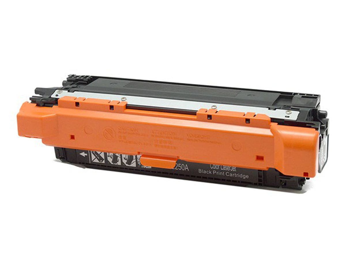 Monoprice Compatible HP 504A (CE250A) Laser Toner - Black-Large-Image-1