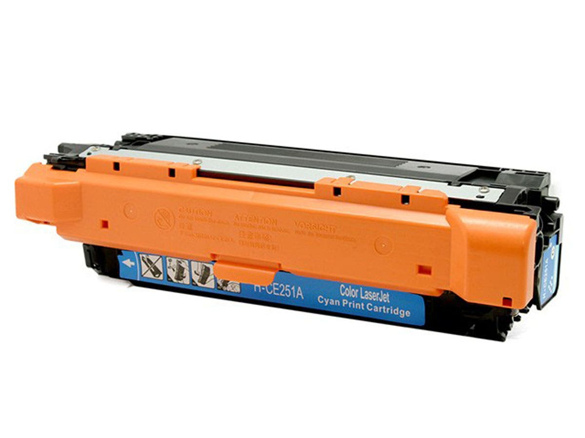 MPI Compatible HP 504A (CE251A) Laser Toner -  Cyan-Large-Image-1
