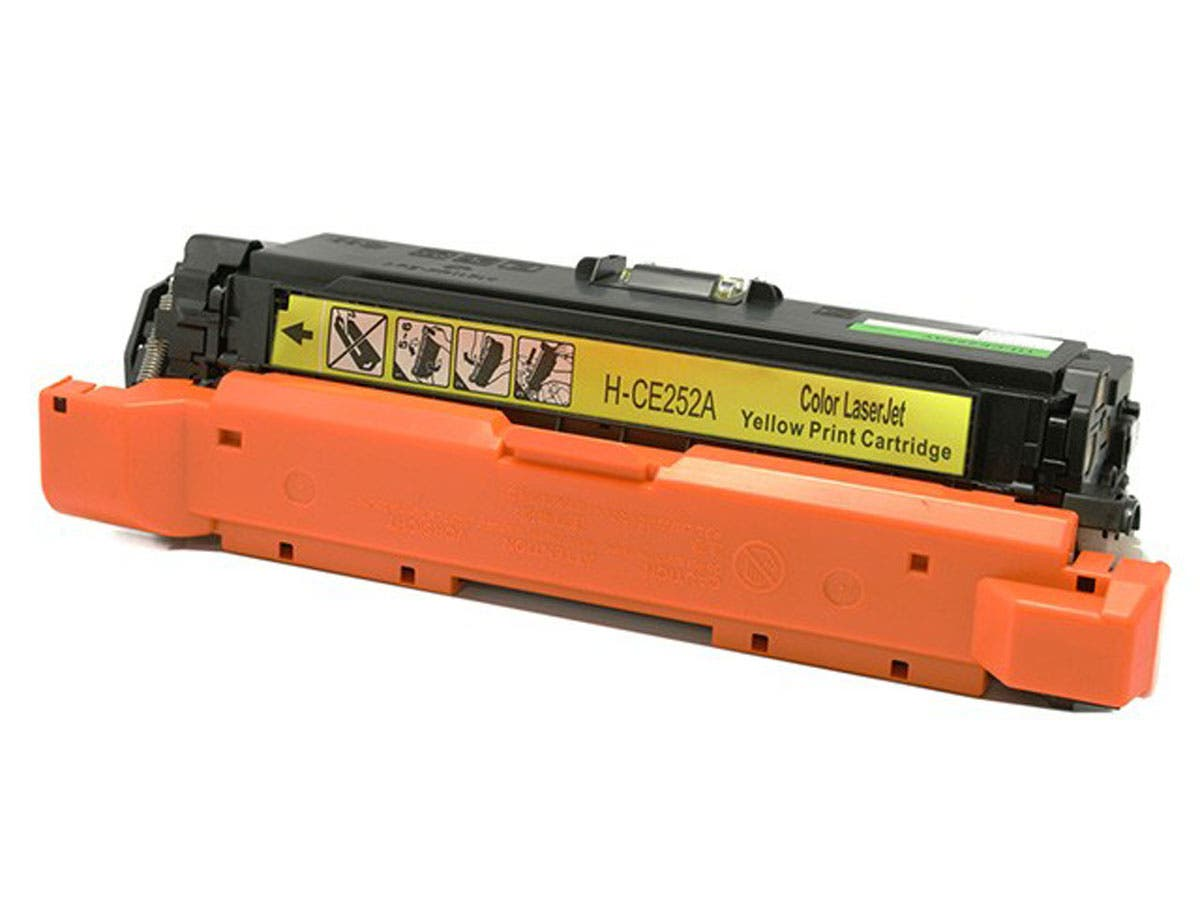 Monoprice Compatible HP 504A (CE252A) Laser Toner - Yellow-Large-Image-1