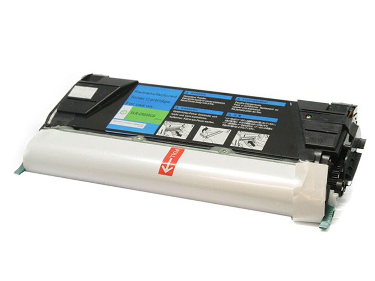 Monoprice Remanufactured Lexmark C5220CS Laser/Toner-Cyan-Large-Image-1