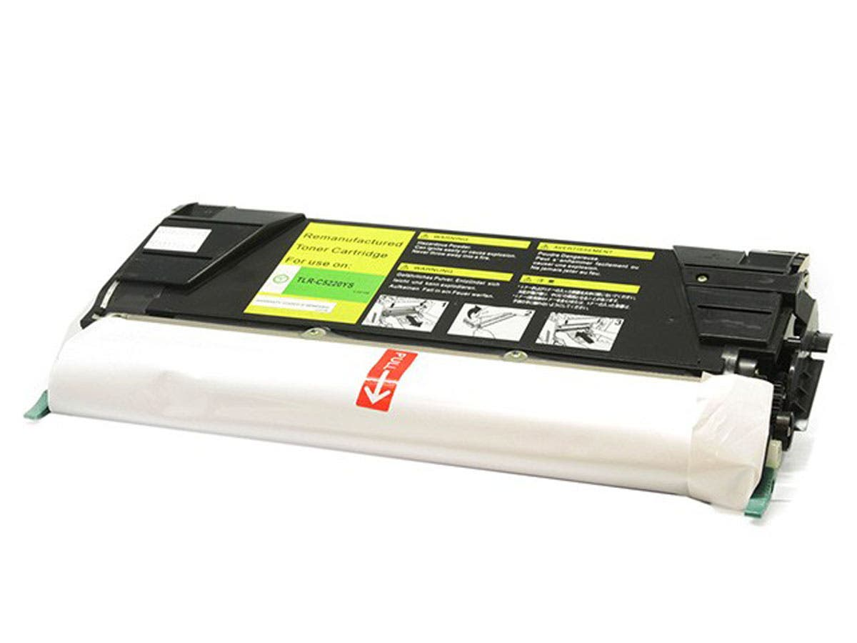 Monoprice Remanufactured Lexmark C5220YS Laser/Toner-Yellow-Large-Image-1