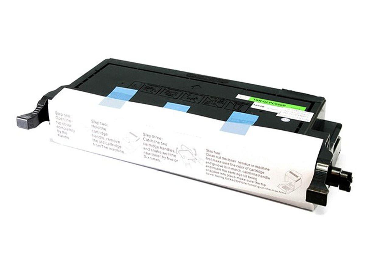 Monoprice Compatible Samsung CLPC660B Laser Toner - Cyan-Large-Image-1