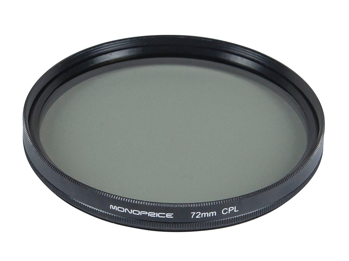 Monoprice 72mm CPL Filter-Large-Image-1