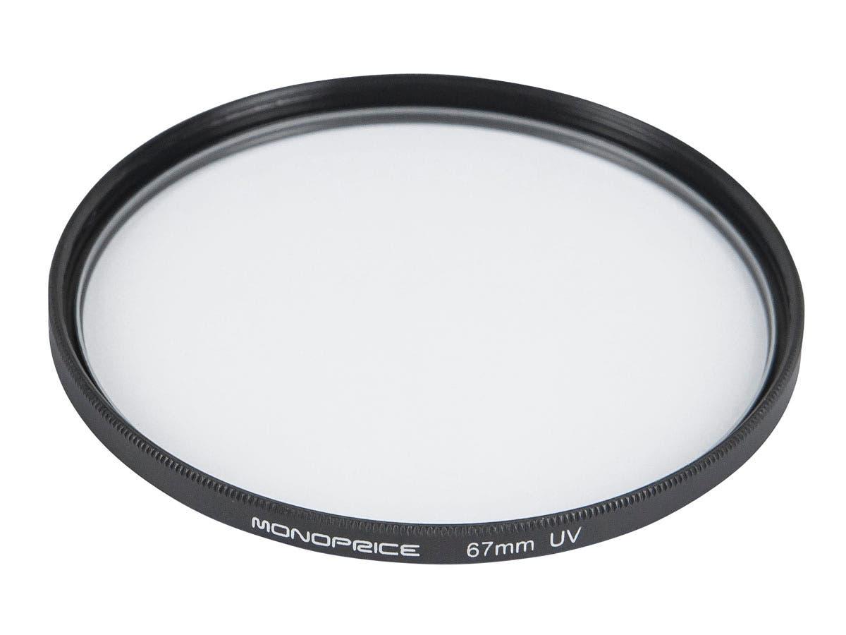 Monoprice 67mm UV Filter - main image