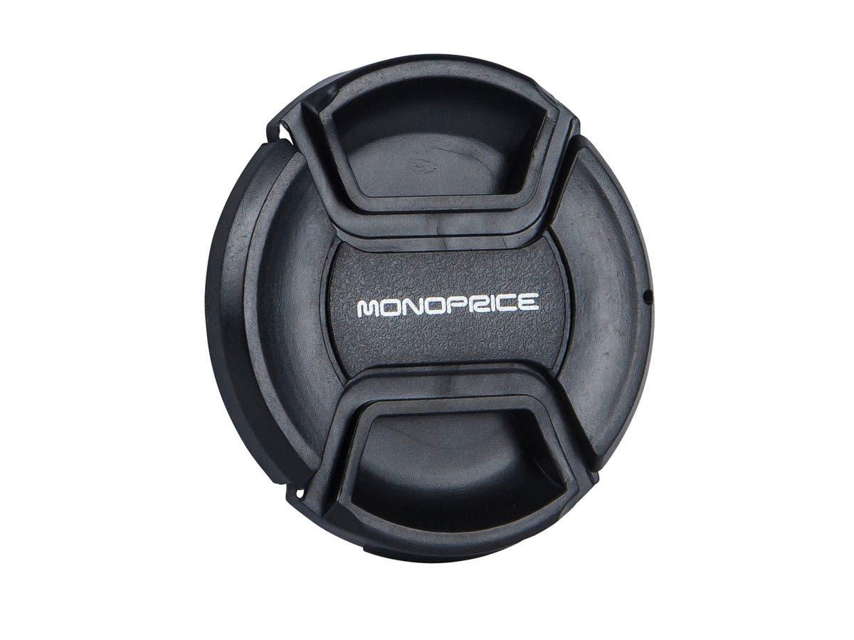 Monoprice 58mm Center Pinch Lens Cap-Large-Image-1