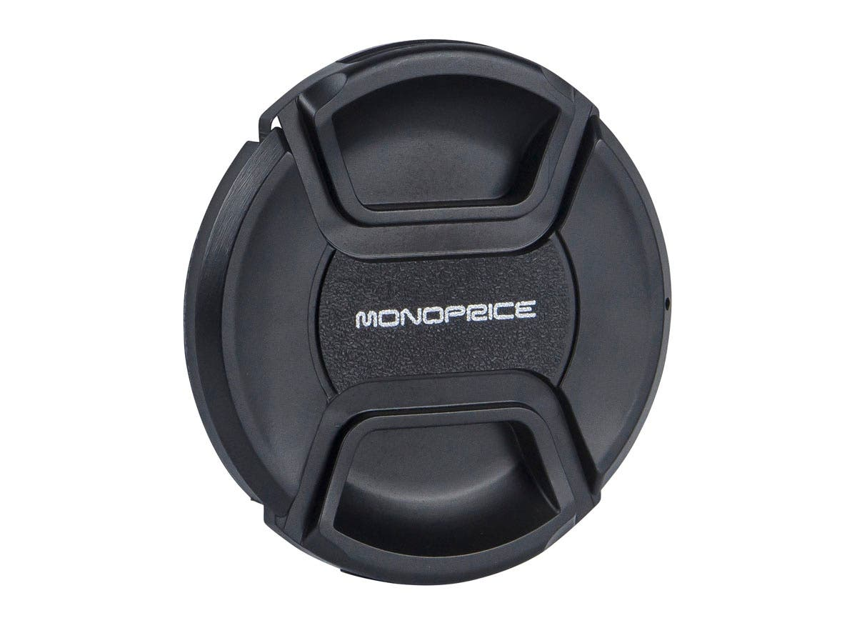 Monoprice 67mm Center Pinch Lens Cap-Large-Image-1