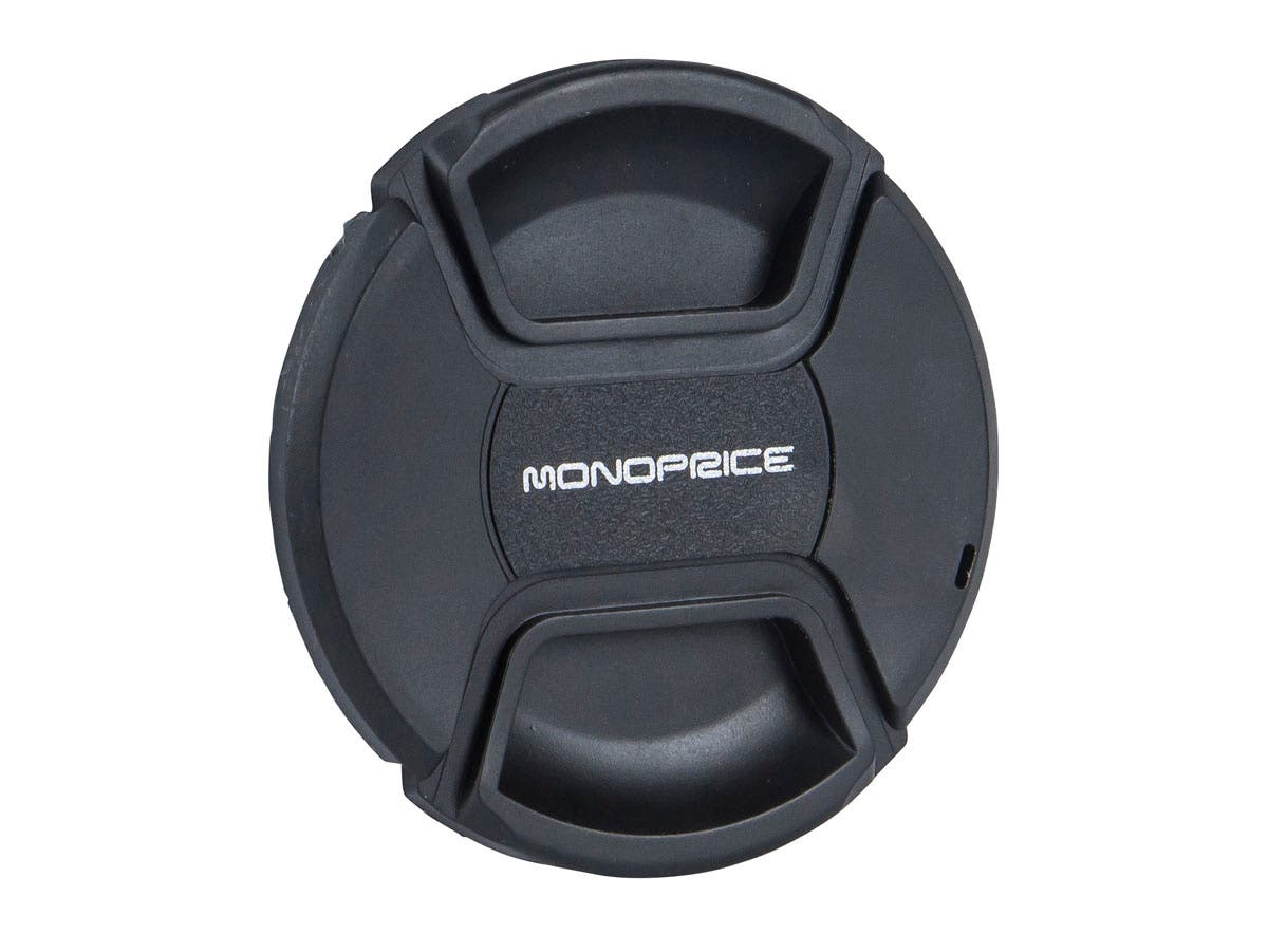 Monoprice 77mm Center Pinch Lens Cap-Large-Image-1