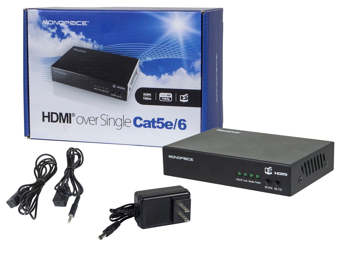 HDBaseT Receiver, 100m (328ft)