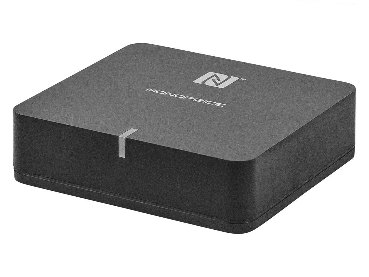 Monoprice Bluetooth Streaming Music Receiver with NFC and Qualcomm aptX Support-Large-Image-1