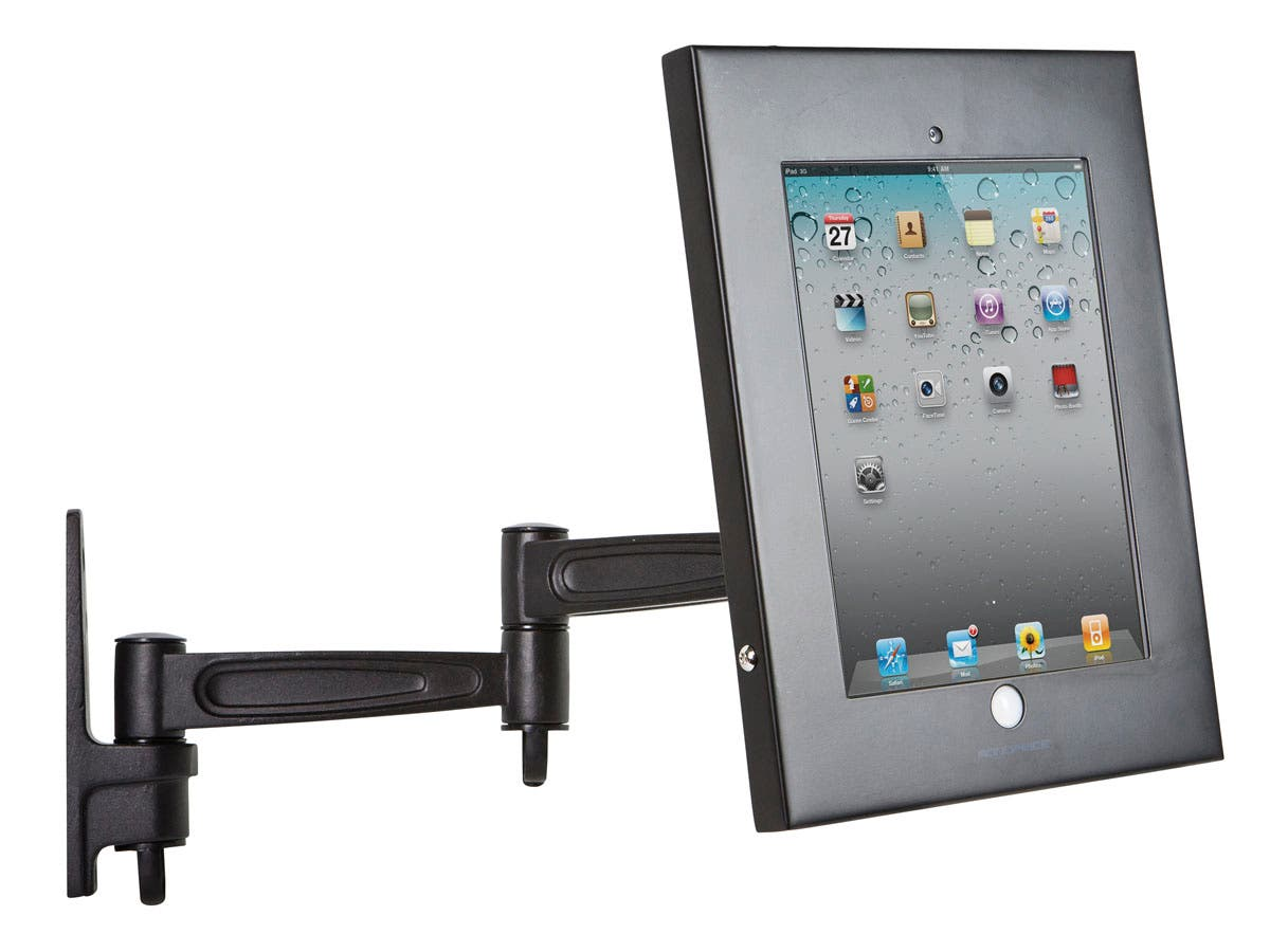 Monoprice Safe and Secure Wall Mount Display Stand for all 9.7-inch ...