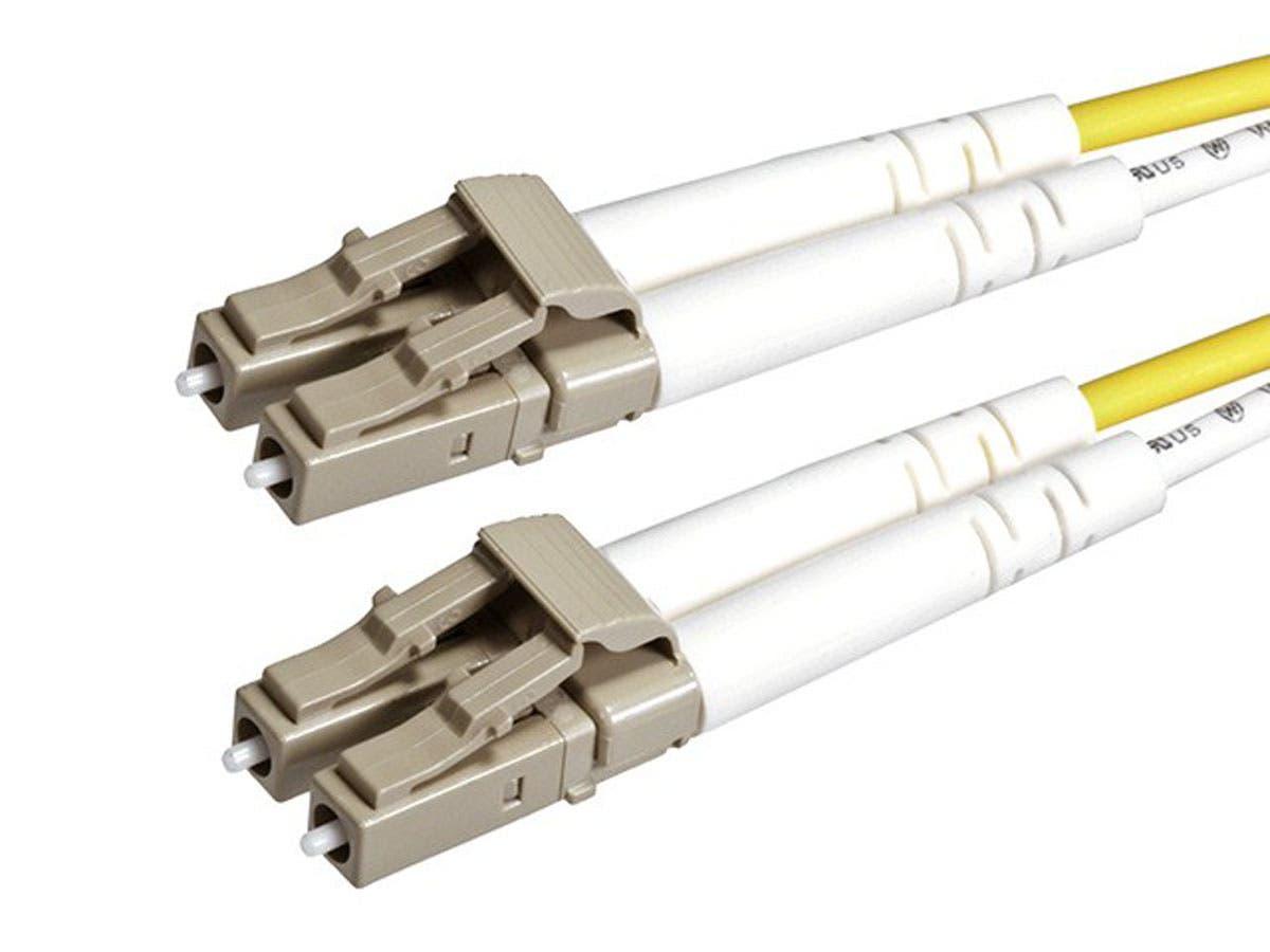 Fiber Optic Cable, LC/LC, OM2, Multi Mode, Duplex -  3 meter (50/125 Type) - Orange