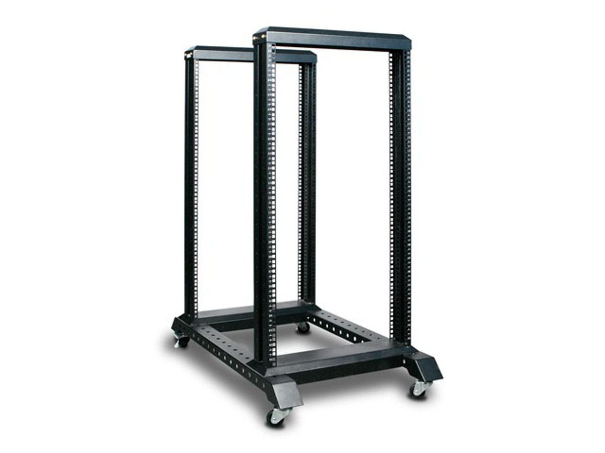 Monoprice 22U 4 Post Open Frame Rack-Large-Image-1