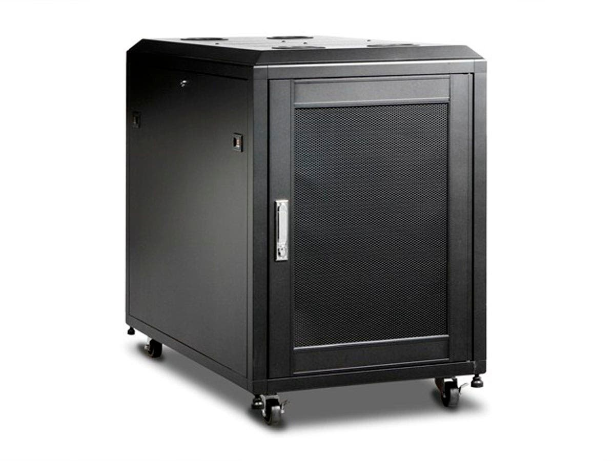 Monoprice 15U 1000mm Depth Rack-mount Server Cabinet-Large-Image-1