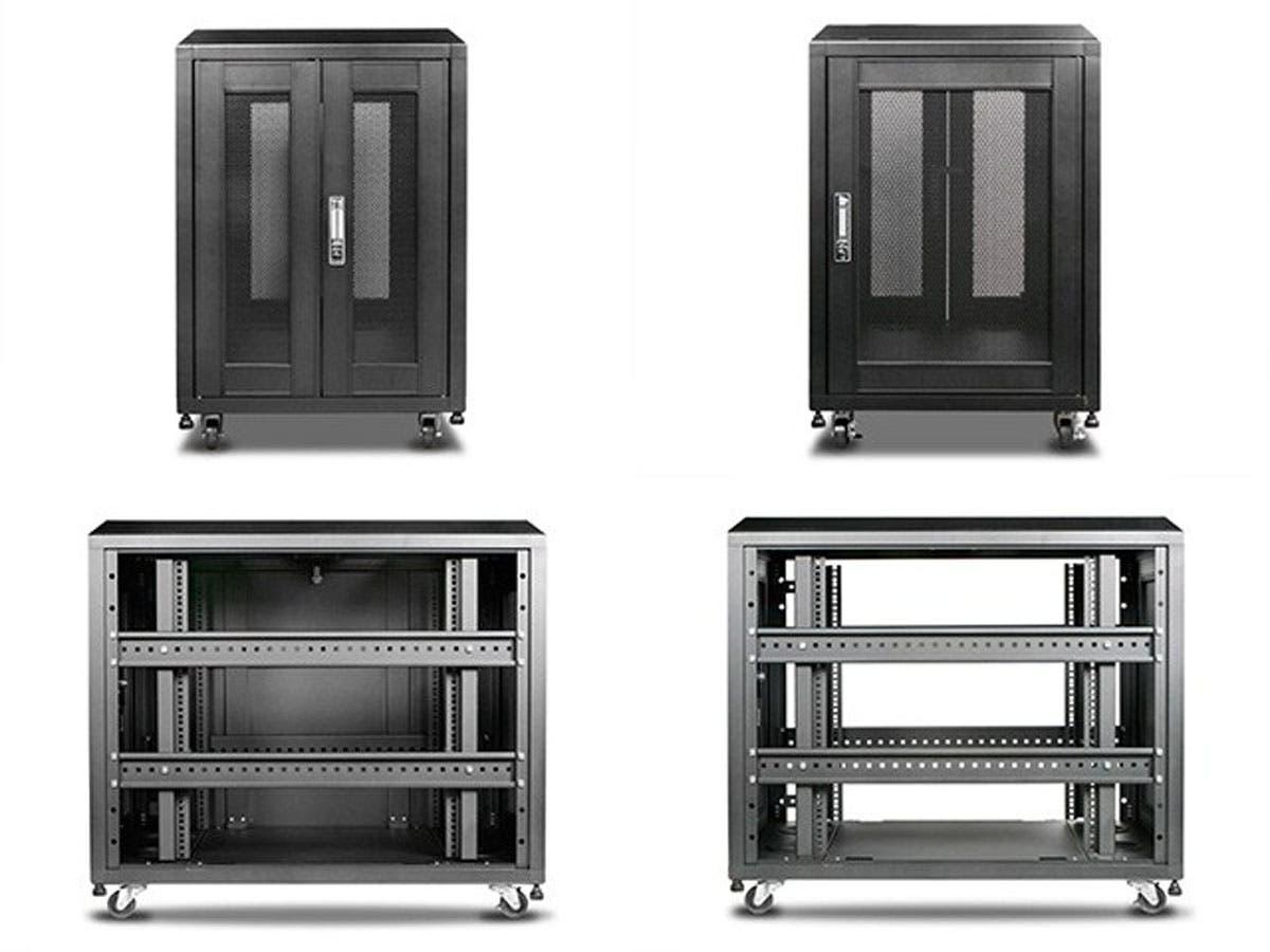 15U 1000mm Depth Rack-mount Server Cabinet - Monoprice.com