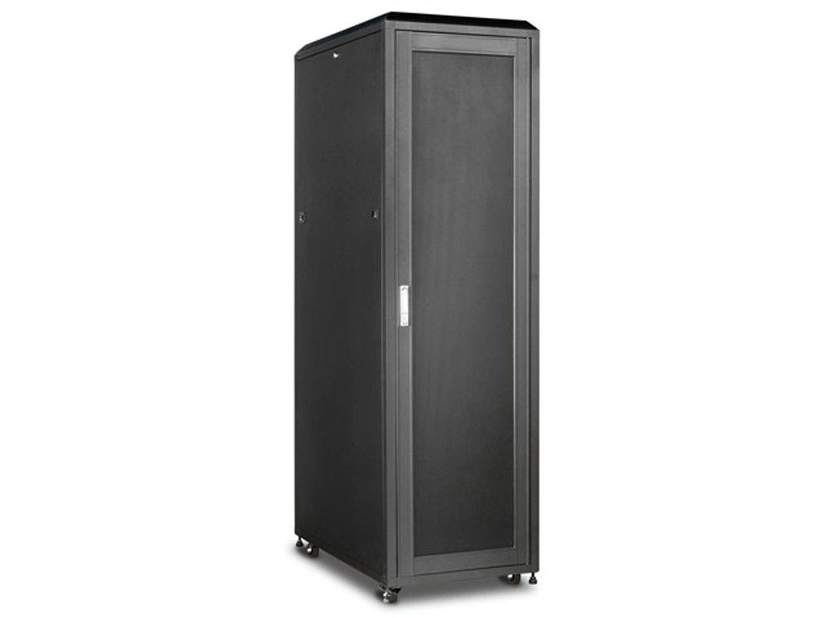 Monoprice 42U 1000mm Depth Rack-mount Server Cabinet - GSA Approved-Large-Image-1