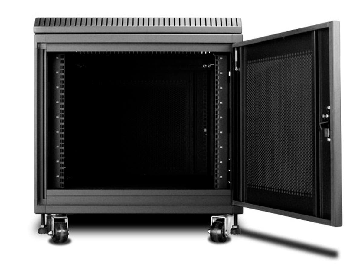 Mono 9u 900mm Depth Rack Mount Server Cabinet Black Small Image